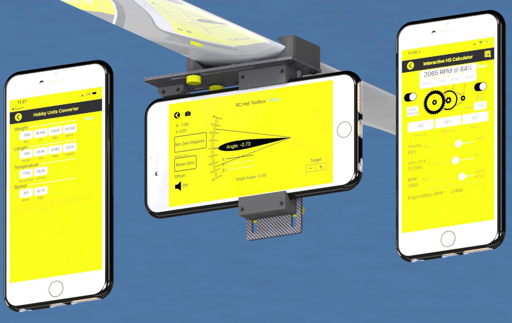 RC Heli Toolbox App